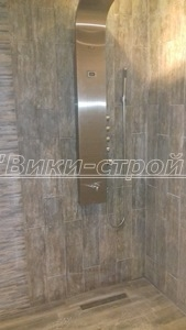 монтаж на душ панел